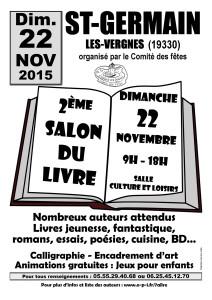 7 lire salon du livre de saint germain les vergnes - Salon du livre de brive ...