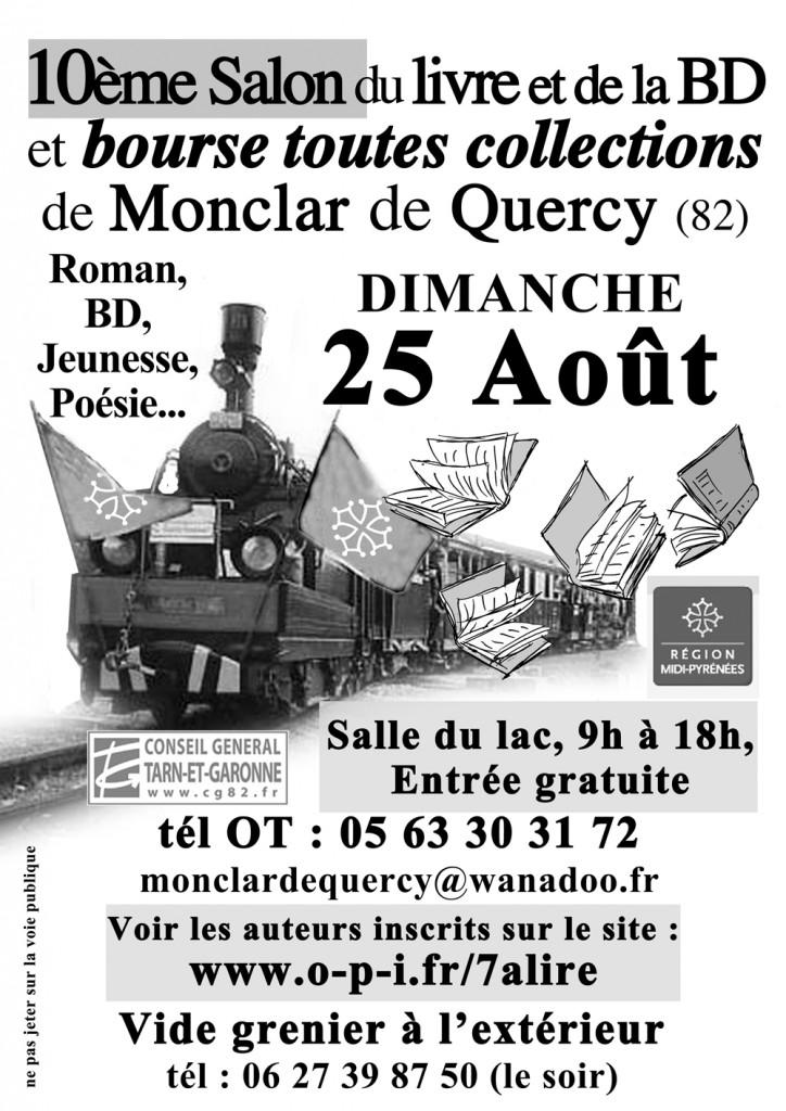 Salon du Livre et de la BD - Monclar de Quercy (82)