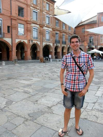 Alex, Place Nationale à Montauban