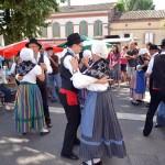 Spectacle du groupe folklorique Lo Reviscòl.