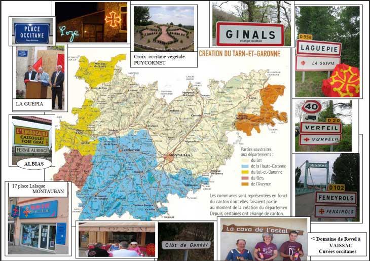 Carte Tarn e Garona
