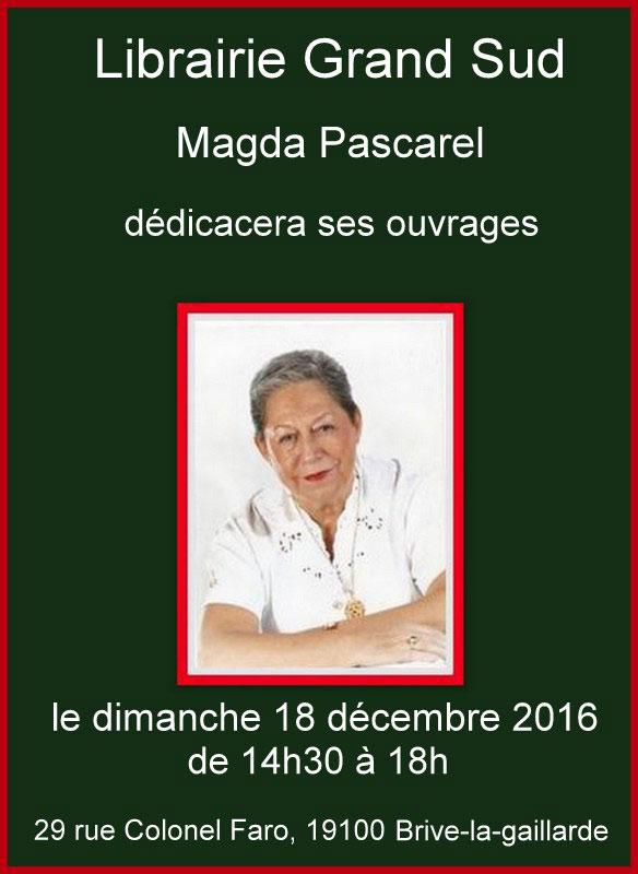 Dédicace Magda Pascarel