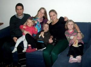 La Famille Fabre avec Laura