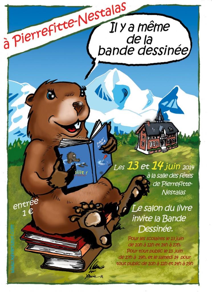 Le Salon du Livre invite la BD à Pierrefitte Nestalas (65)