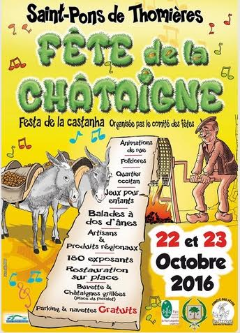 Les Fifrelets à la Fête de la Châtaigne à St Pons les Thomières (34)