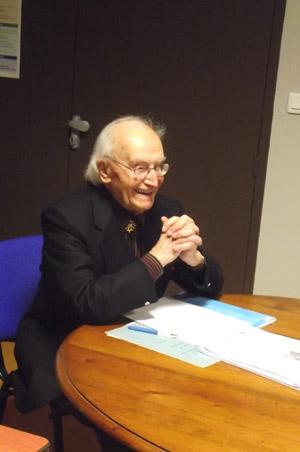 Nadal Rey, un Professeur centenaire heureux du succès de la dictada occitana.