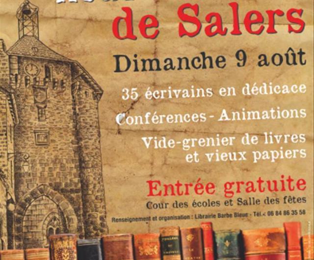 7 lire salon du livre de salers 15 dimanche 9 aout 2015 - Salon du livre de saint louis ...