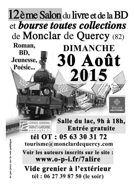 Salon du livre Monclar de Quercy 2015