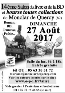 Salon du livre - Monclar de Quercy (82))