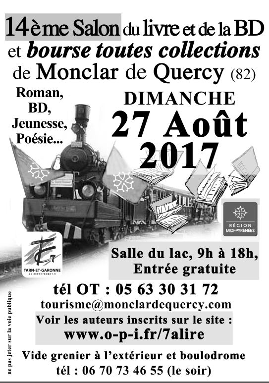 Salon du livre - Monclar de Quercy (82)