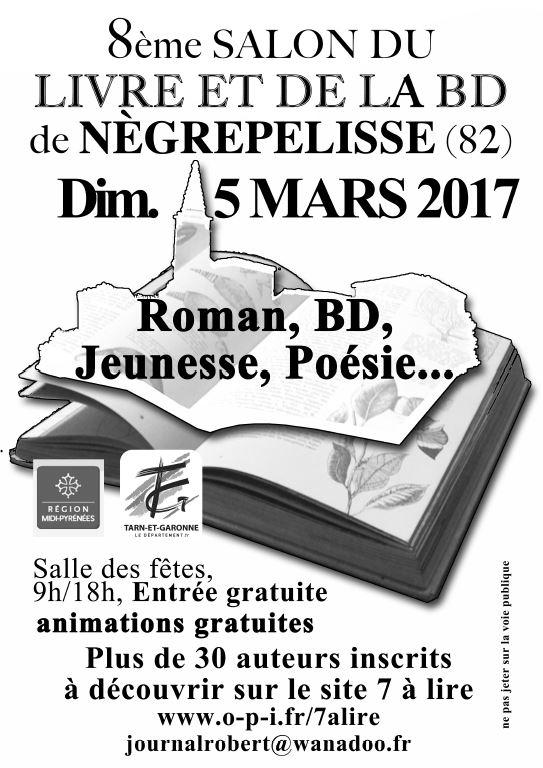 Salon du livre - Nègrepelisse (82)
