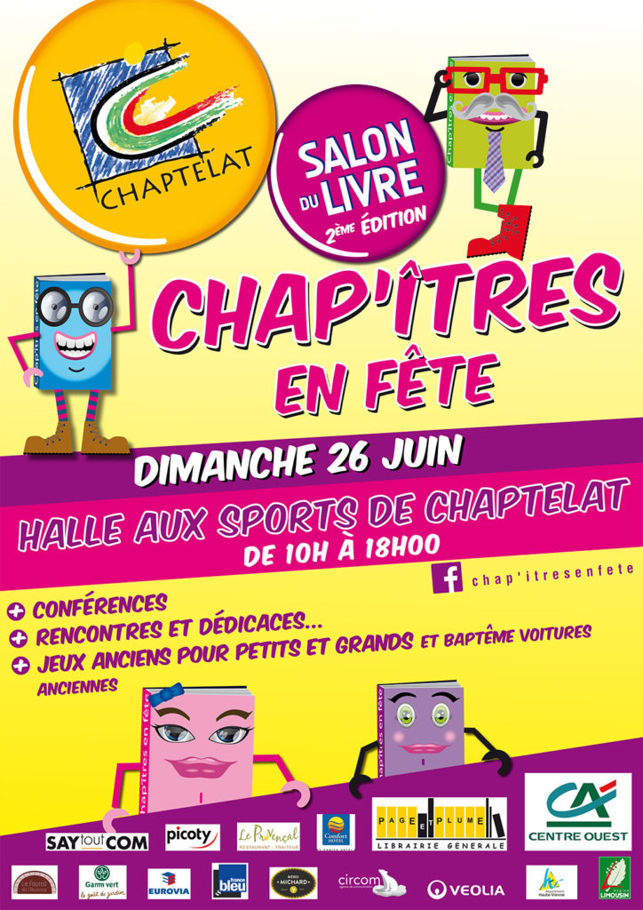Chap'Îtres en Fête à Chaptelat (87). Dimanche 26 Juin 2016
