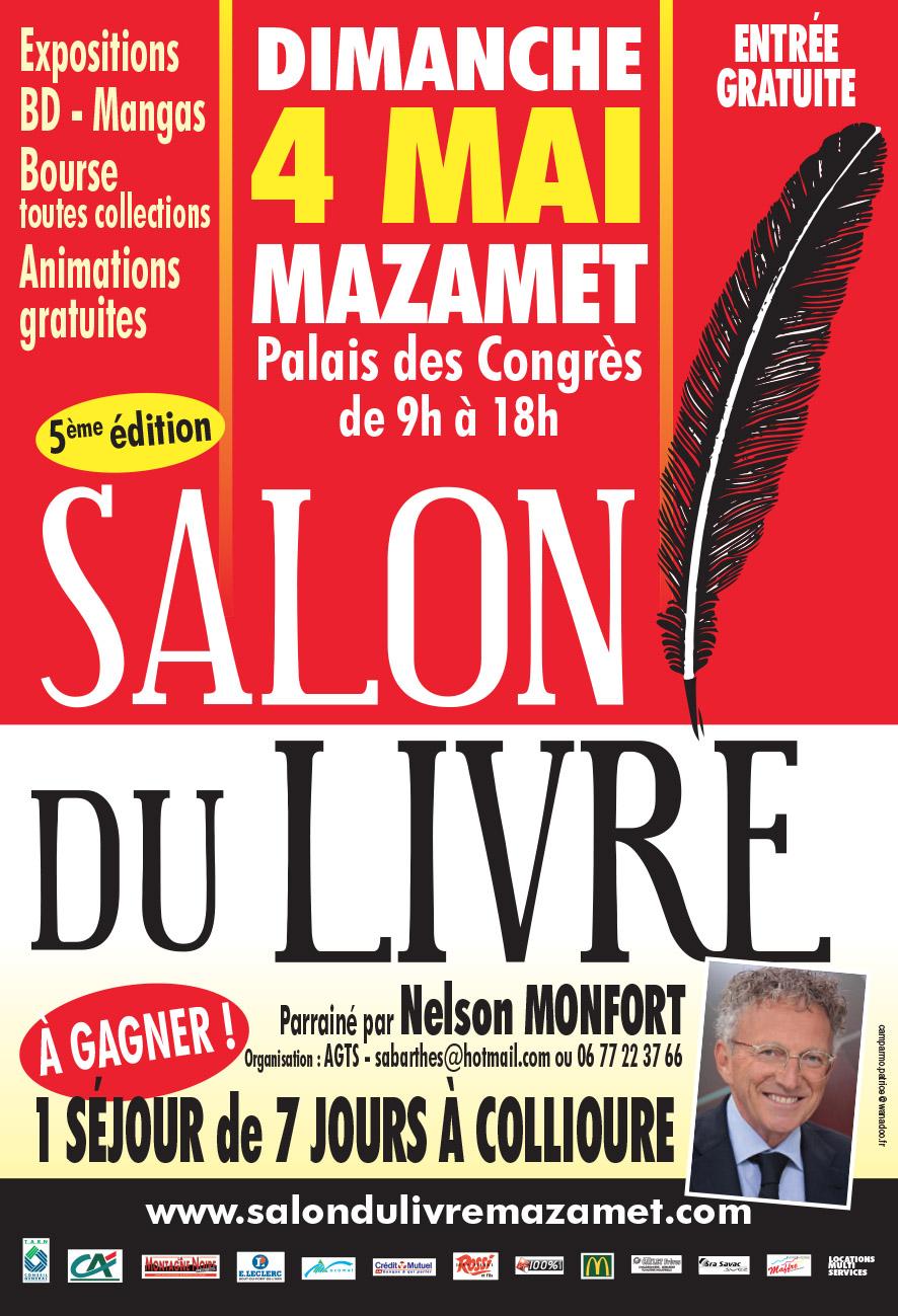 7 lire salon du livre de mazamet dimanche 4 mai 2014 - Salon du livre gaillac ...
