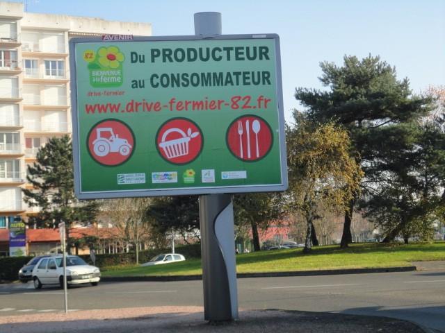 Nouveau drive fermier montauban 82 parlons en - Point p montauban ...