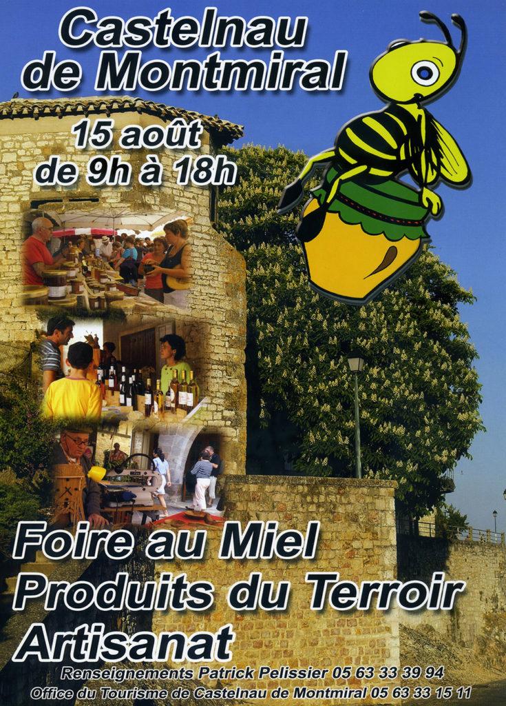 Foire au Miel ... à Castelnau de Montmiral (81)