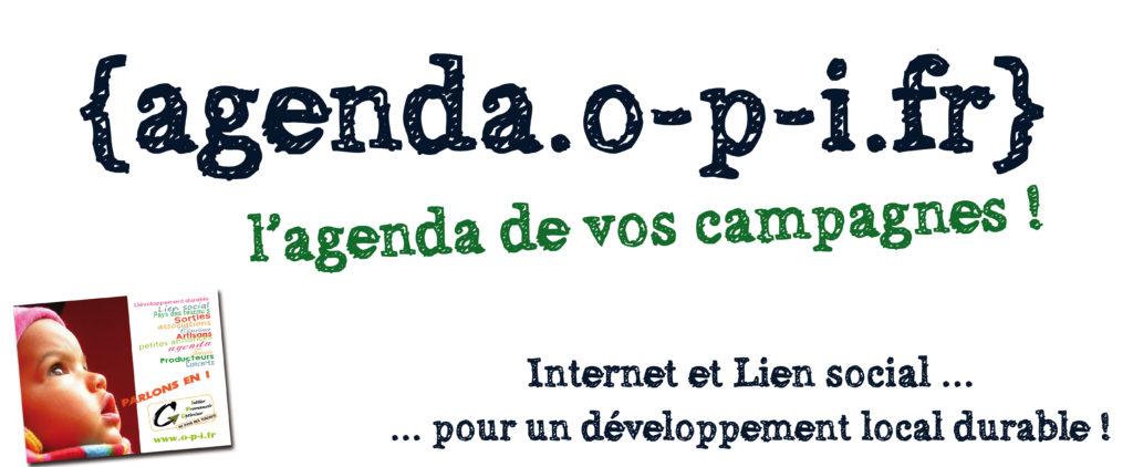[agenda.o-p-i.fr] l'agenda de vos campagnes !