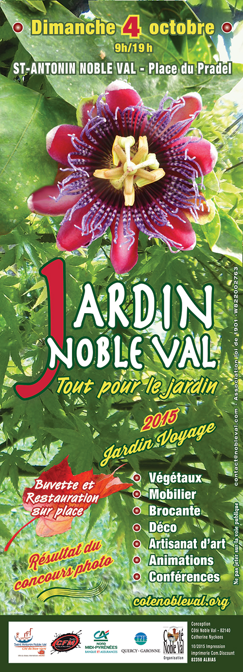 jardin noble val saint antonin noble val 82