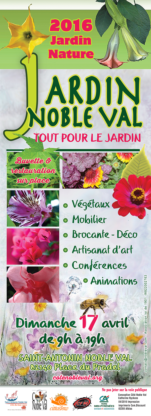 Jardin noble val saint antonin noble val 82 for Guia jardin noble 2016