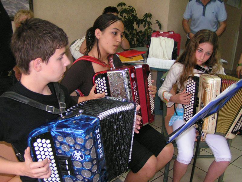 Rencontres jeunes musiciens vuadens