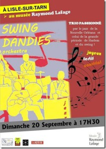 Swing Dandies à Lisle sur Tarn (81)