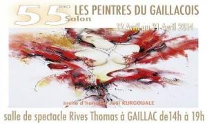 55ième Salon des peintres gaillacois