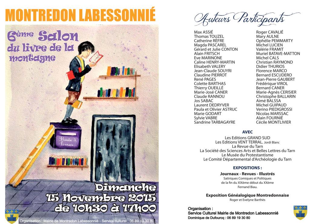 6ème Salon du Livre de la Montagne. Montredon Labessonié (81)