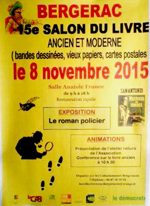 15ème Salon du Livre de Bergerac (33)