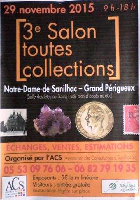 3ème Salon Toutes Collections. Notre Dame de Sanilhac (24)