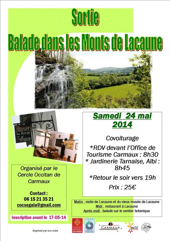 Sortie Laucaune - Cercle Occitan de Carmaux (81)