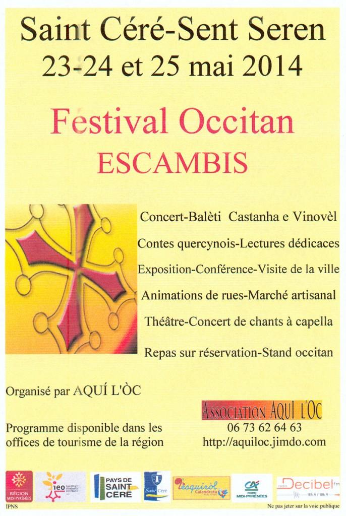 Festival occitan Escambis