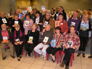 Auteurs lors du salon de Nègrepelisse