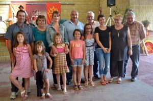 Etudiantes autrichiennes à la fèsta occitana
