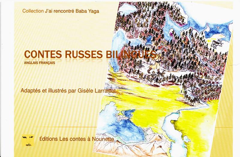 """""""Contes Russes bilingues"""". DVD de Gisèle LARRAILLET"""