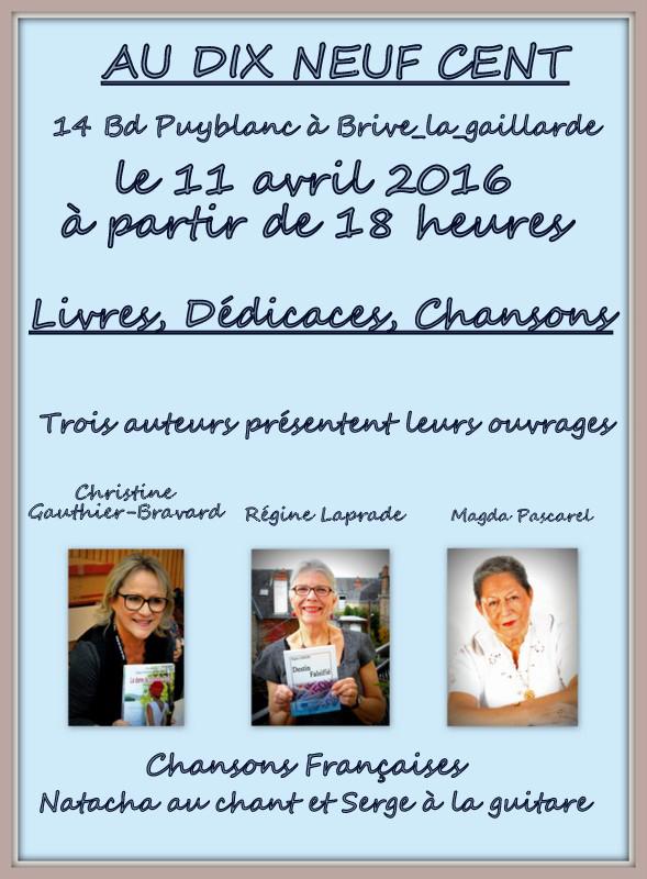 Livres Dédicaces Chansons - Brive La Gaillarde (19)