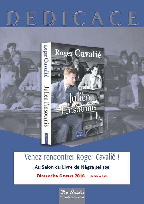 Dédicace Roger Cavalié