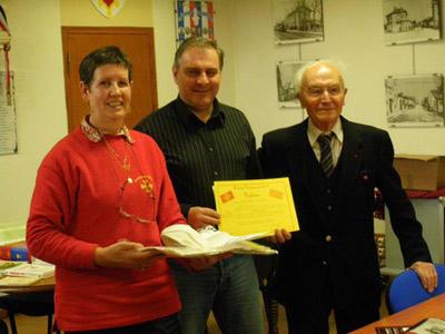 Joan-Frederic fera encore mieux l'an prochain puisqu'il a gagné une semaine a Lenga viva, universitat occitana d'estiu de La Guépia (82)