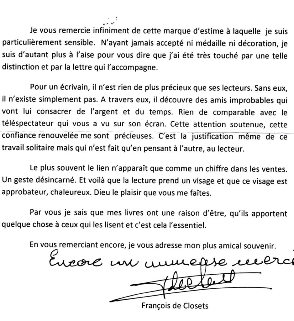 François de Closets - 7 à lire !