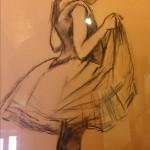 """Exposition de Madame Simone Bru Malaviolle """"Hommage à Henri de Toulouse - Lautrec"""""""