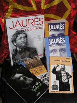 Preuve des multiples facettes de Jean Jaurès, homme hors du commun : les titres de  ces divers ouvrages en vente à l'ASAGAL OCCITAN , 1400 route d'Auch à MONTAUBAN