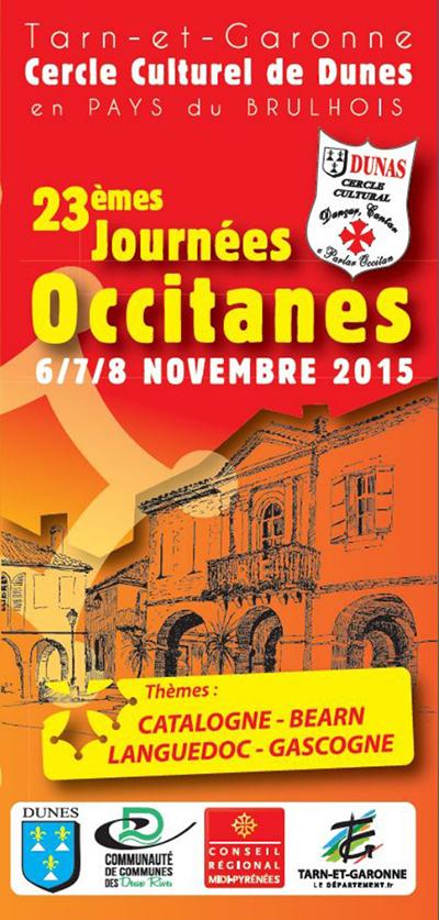 23 èmes Journées Occitanes de Dunes (82)