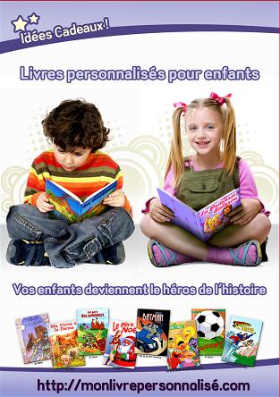 Livres personnalisés pour enfants