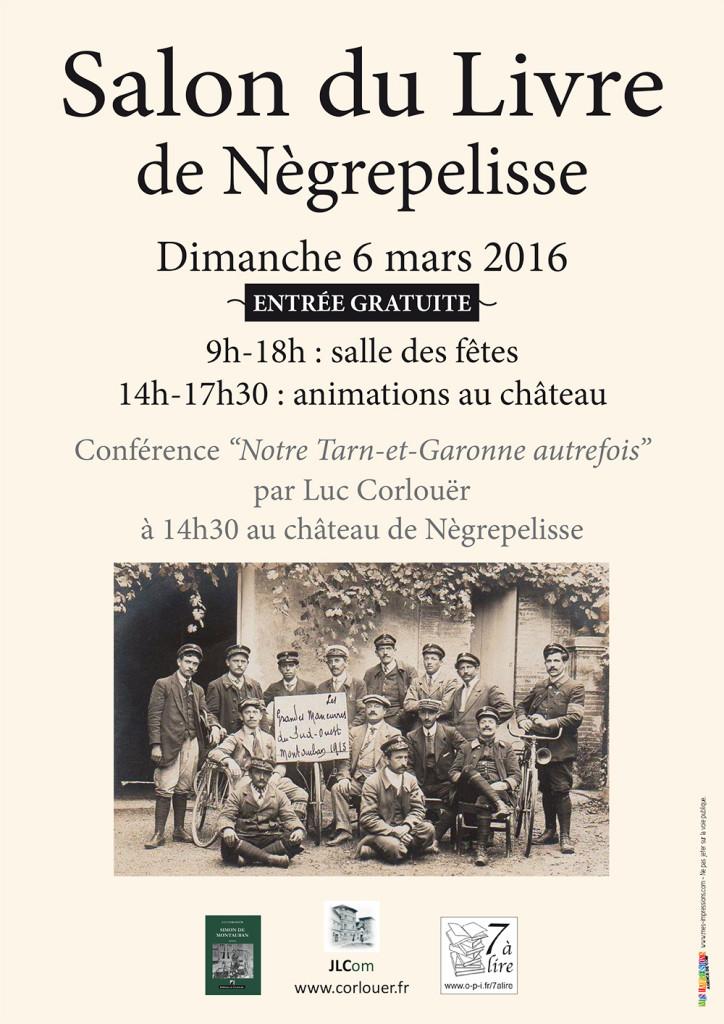 """Conférence """"Notre Tarn-et-Garonne autrefois"""" par Luc Corlouër"""
