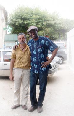 M THOMAS et A MABANCKOU
