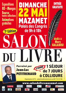 Salon du Livre de Mazamet (Tarn)