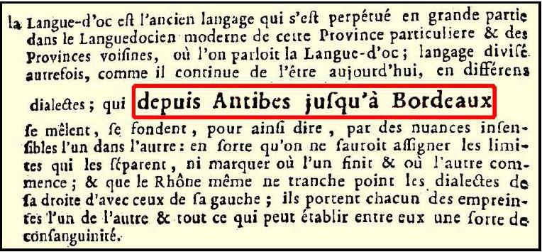 Langue d'Oc