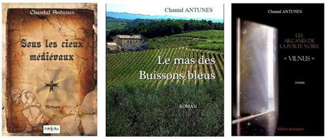 Les ouvrages de Chantal Antunes