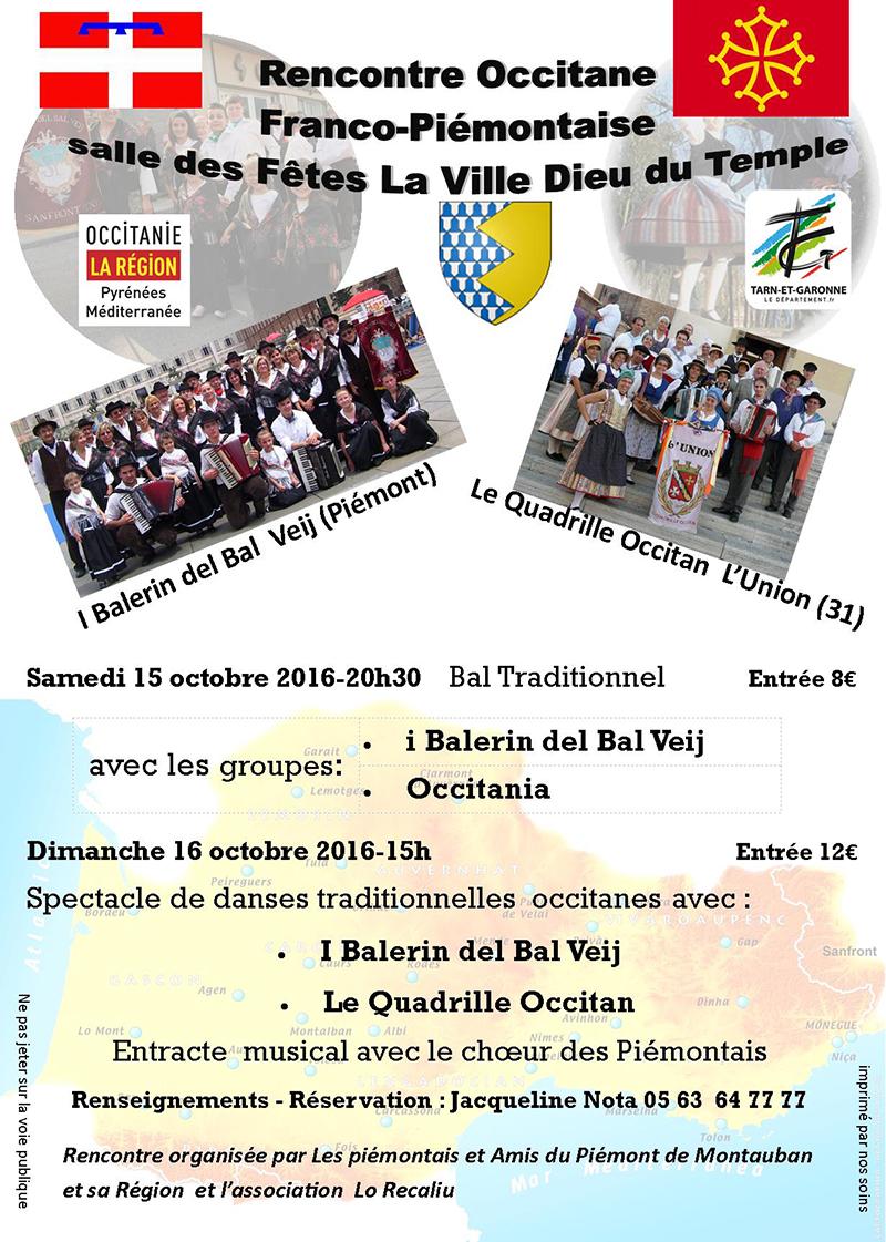 Rencontre occitane à La Ville Dieu du Temple (82)