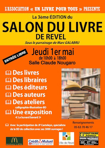 Salon du Livre de Revel 2014