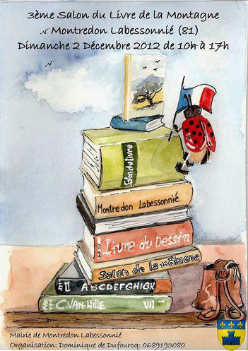 Salon du Livre de la Montagne 2012 - Montredon Labessonnié