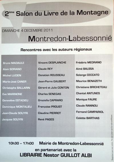 Montredon Labessonié 2011